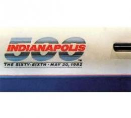 Camaro Indy 500 Pace Car Door Decals, 1982