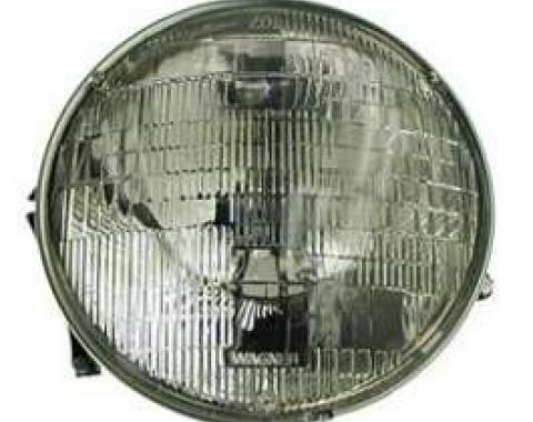 Camaro Headlight Capsule, Assembled, Right, GM, 1967-1969