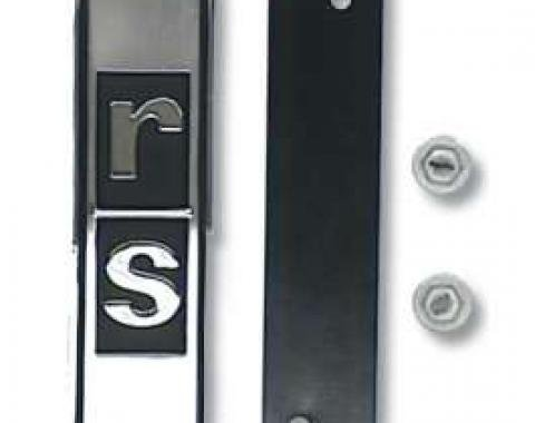 Camaro Rally Sport (RS) Grill Emblem, 1967-1968