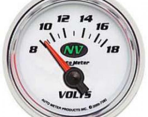 Camaro Voltmeter Gauge, NV2, AutoMeter