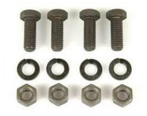 Camaro Front Bumper Inner Extension Bracket Mounting Bolt Set, 1969