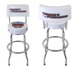Transformers Autobot Bar Stool With Back Rest