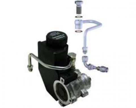 Camaro Power Steering Pump Hardline Kit, For Type II Pumps With Integral Reservoir, 1967-1981