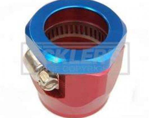 Camaro Heater Hose Clamp, Red/Blue, 5/8