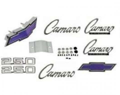 Camaro Emblem Kit, For Cars With Standard Trim (Non-Rally Sport) & 250ci, 1969