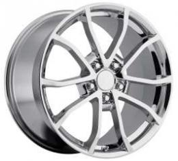Camaro Corvette C6 Centennial Edition Cup Style Wheels, 17 X 8.5, Chrome, 1993-2002