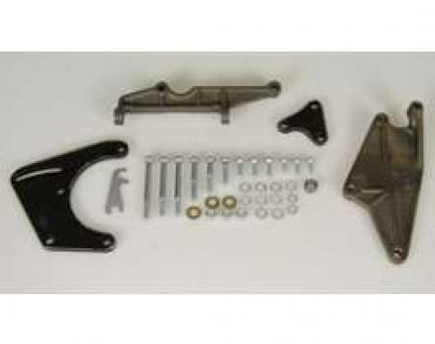 Camaro Air Conditioning Compressor Brackets & Mounting Hardware Set, Small Block, 1967-1968
