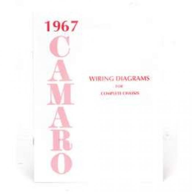 Camaro Wiring Diagram Manual, 1967