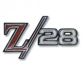 Camaro Fender Emblem, Z28, 1968