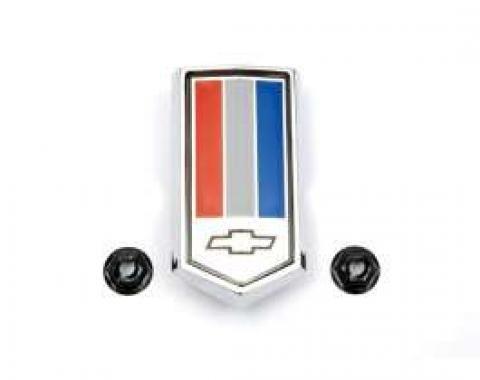 Camaro Gas Door Emblem, Z28 & Camaro, 1978-1979