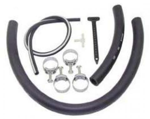 Camaro Air Injection Reactor (AIR) System Hose Kit, Small Block, 1969
