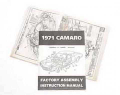 Camaro Assembly Manual, 1971