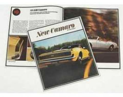 Camaro Dealer Showroom Brochure, 1967