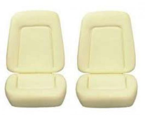 Camaro Bucket Seat Foam Cushions, Standard Interior, 1967-1968