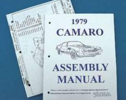 Camaro Assembly Manual, 1979