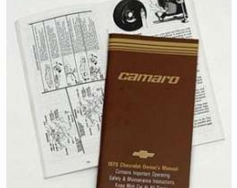 Camaro Owner's Manual, 1979