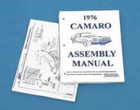 Camaro Assembly Manual, 1976