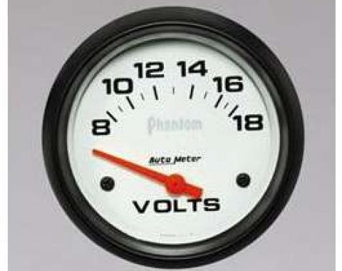 Camaro Voltmeter Gauge, Phantom, AutoMeter