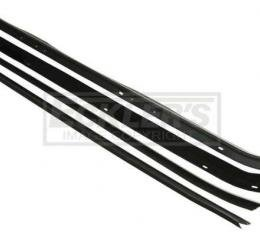 Camaro Window Felt Weatherstrip Kit, Inner And Outer, Z28 Or Berlinetta, 1979-1981