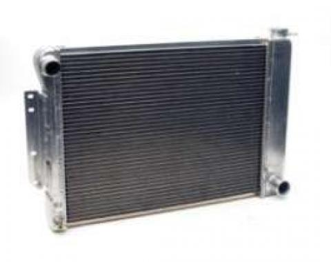 """Camaro Radiator, Aluminum, 21"""", Griffin HP Series, For Cars With Manual Transmission, 1967-1969"""
