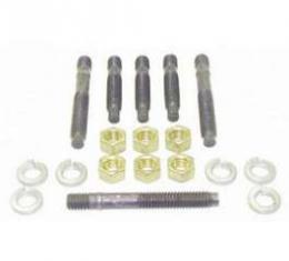 Camaro Exhaust Manifold Stud Set, Small Or Big Block, Steel, 1967-1992