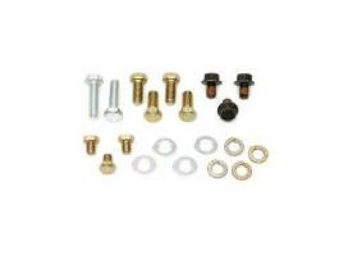 Camaro, TH700R4 Transmission Conversion Bolt Kit, 1967-1981