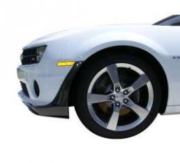 Camaro Foilers, SS, Front/Rear, 4-Piece Set, Urethane, Carbon Fiber Look, 2010-2014