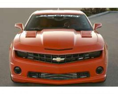Camaro Hood Scoops, Louvered, 2010-2014