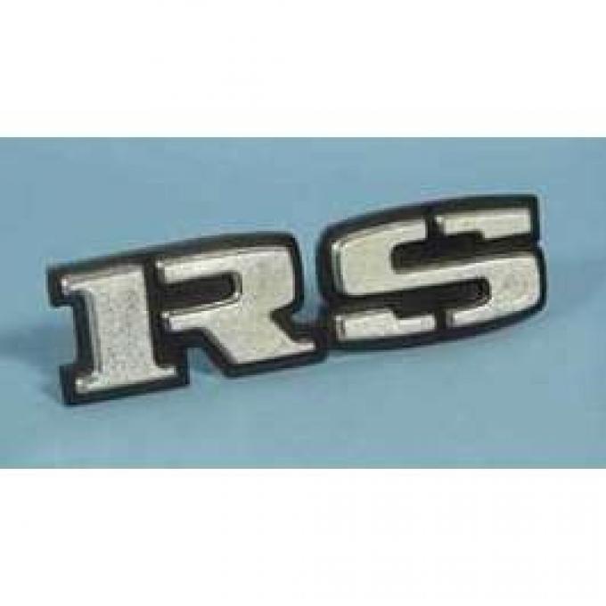Camaro Taillight Panel Emblem, RS, 1969