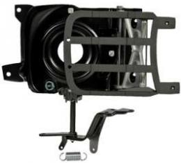 Camaro Headlight Door Assembly, Right, Rally Sport (RS), 1969