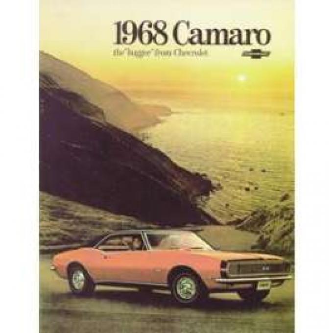 Camaro Dealer Showroom Brochure, 1968