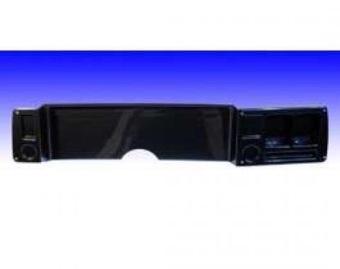 Camaro Dash Panel, Not Drilled, Carbon Fiber, Blank Panel, 1979-1981
