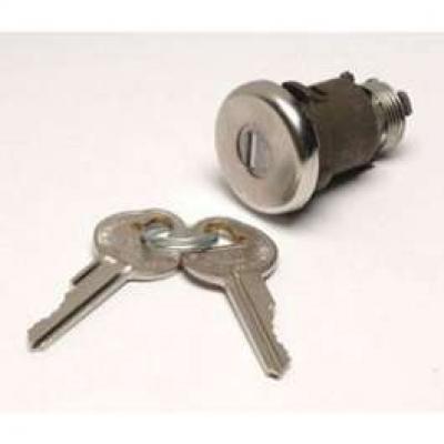 Camaro Trunk Lock, With Original Style Keys, 1968