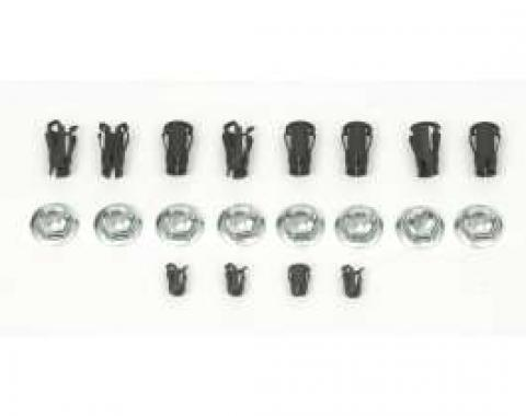 Camaro Emblem Fastener Set, For Cars With Standard Trim (Non-Rally Sport) & Z28 , 1967