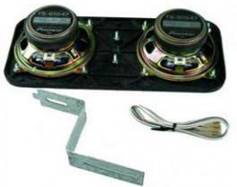 Camaro Kenwood In Dash Speakers For Cars Without Air Conditioning, 1967-1969
