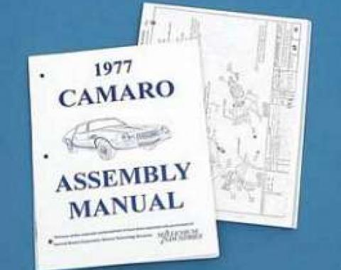 Camaro Assembly Manual, 1977