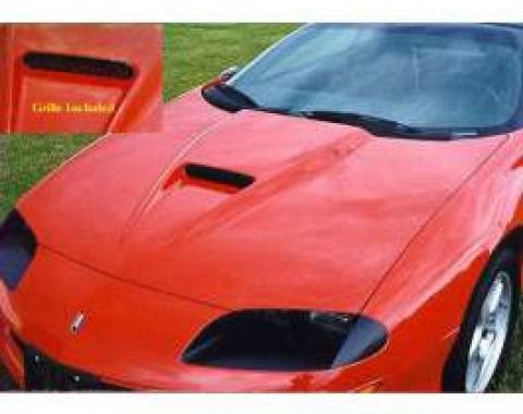 Camaro Hood, SS Style, Fiberglass, 1993-1997