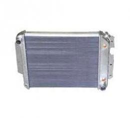 Camaro Radiator, Aluminum Performance, For Cars With Small Block & Automatic Transmission, Alumitech, 1967-1969