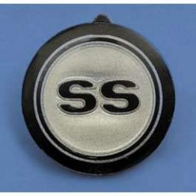 Camaro Horn Cap Button Insert, SS, 1968