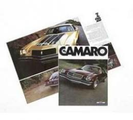Camaro Color Sales Brochure, 1974