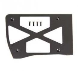 Camaro Headlight Door Cover Backing Plate, Right, Rally Sport (RS), 1967-1968