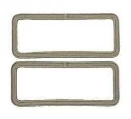 Camaro Back-Up Light Lens Gaskets, Rally Sport (RS), 1969