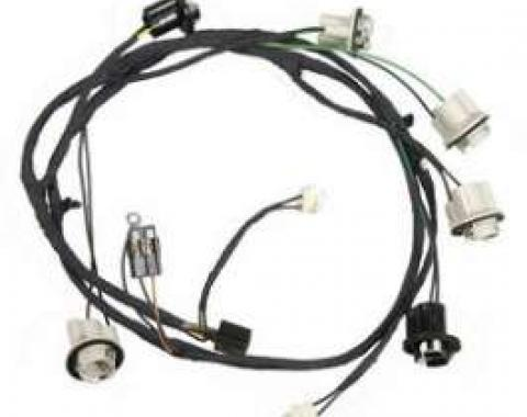 Camaro Rear Lighting Wiring Harness, Standard, 1969