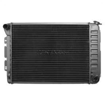 Camaro Radiator, Small Block, For Cars With Manual Transmission & Air Conditioning, 1967-1968, Big Block, For Cars With Manual T