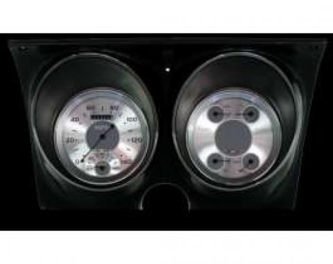 Camaro Updated Gauge Kit, All American Series, Classic Instruments, 1967-1968
