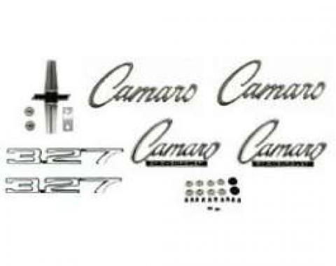 Camaro Emblem Kit, For Cars With Standard Trim (Non-Rally Sport) & 327ci, 1968