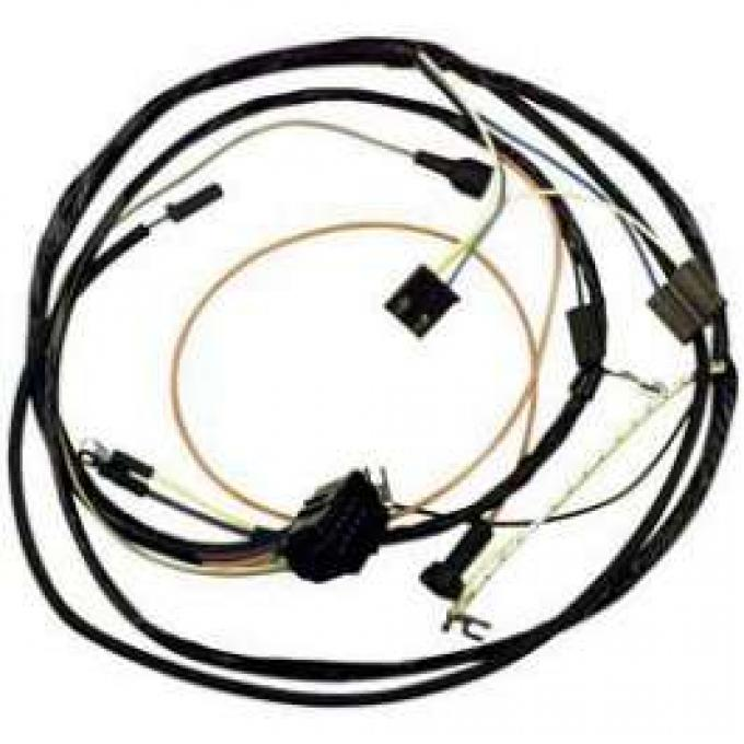 Camaro Engine Wiring Harness, Big Block, For Cars With Warning Lights, 1967