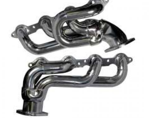 2010-2013 Camaro BBK Headers, LS3/L99 1-3/4 Shorty Tuned Length, Chrome Finish