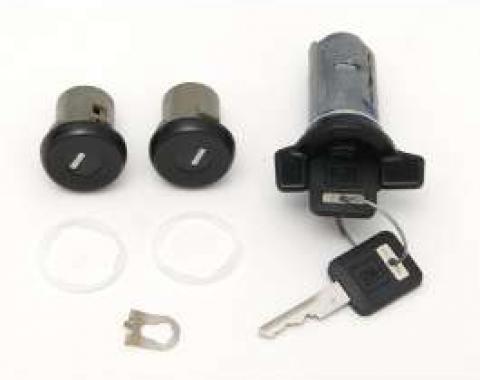 Camaro Ignition & Door Lock Kit, With Keys, 1985-1988