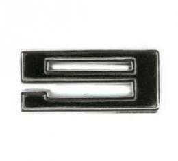 Engine Displacement Number 9-Black